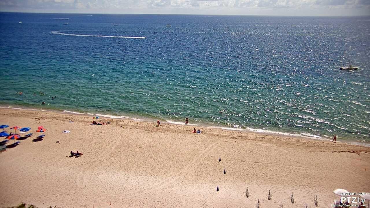 Pompano Beach Cam - Live Streaming Webcam at the Beachcomber